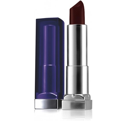 Rouge a levres Maybelline Color Sensational Bold n°885 Midnight Merlot, en lot de 6p