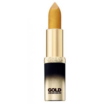 Rouge a levres l'Oréal Color Riche Gold Obsession, Ruby Gold, en lot de 6p, neuf sans blister
