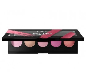 Blush L'oreal Infaillible Paint Palette couleur Pink en lot de 6p,sans blister