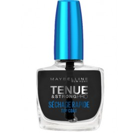Vernis à ongles Soin Maybelline Tenue & Strong sechage rapide top coat en lot de 6p