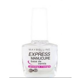 Vernis à ongles Soin Maybelline Express Manucure Base de Vernis protege l'ongle en lot de 6p