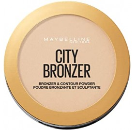 Poudre Maybelline City Bronzer n°100 Light Cool, en lot de 6 pièces, neuf