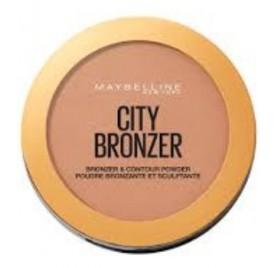 Poudre Maybelline City Bronzer n°300 Deep Cool, en lot de 6 pièces, neuf