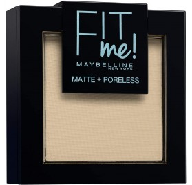 Poudre Maybelline Fit Me n°105 Ivoire Naturel, en lot de 6p, neuf