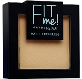 Poudre Maybelline Fit Me n°250 Beige Ensoleillé, en lot de 6p, neuf