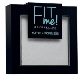 Poudre Maybelline Fit Me n°90 Translucent, en lot de 6p, neuf