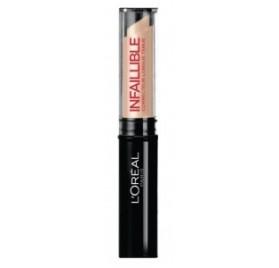 Correcteur de teint stick L'Oréal Infaillible, n°06 Ambre, en lot de 6p, neuf