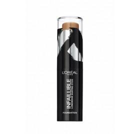 Fond de teint L'Oréal Infaillible Stick Sculptant longue tenue, n°220 Caramel, en lot de 6p
