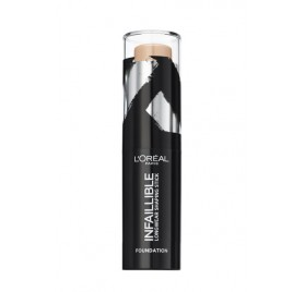 Fond de teint L'Oréal Infaillible Stick Sculptant longue tenue, n°160 Sable, en lot de 6p