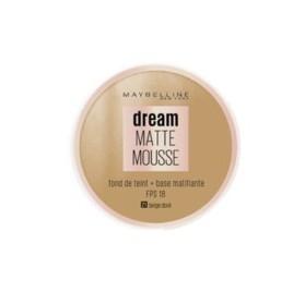 Fond de teint Dream Matte Mousse Maybelline, n°50 Sun Bronze, en lot de 6p, neuf, sans blister