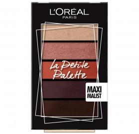 L'Oreal La Petite Palette, teinte Maximalist, en lot de 6p