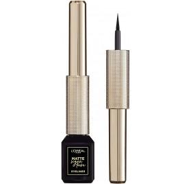 Eye-Liner L'Oréal Matte Signature n°01 Black Signature, en lot de 6p