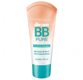 Dream BB Pure Maybelline, teinte Light, en lot de 6p