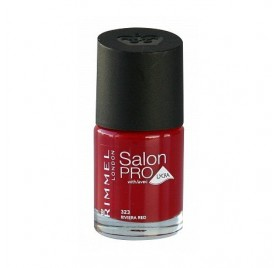 Vernis Rimmel Salon Pro n°323 Riviera Red, en lot de 6p