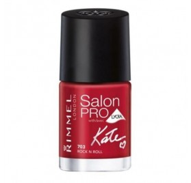 Vernis Rimmel Salon Pro Kate n°703 Riviera Red, en lot de 6p
