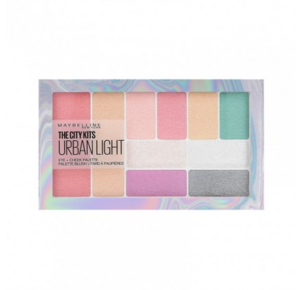 Fards à Paupières palette Maybelline The City Kit Urban Light en lot de 6, neuf, sans blister