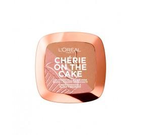 Blush + Poudre Bronzante l'Oréal Cherie On The Cake n°01 Cherry Fever, en lot de 6p