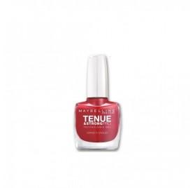 Vernis à ongles Maybelline Tenue & Strong n°06 Rouge Profond, en lot de 6p