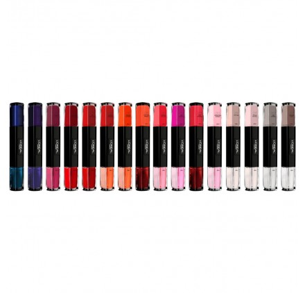 Vernis a Ongles Infaillible Gel Duo mixte L'OREAL lot de 12 pièces, nu sans blister