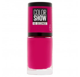 Vernis à ongles Maybelline Color Show n°06 Bubblicious, en lot de 6p