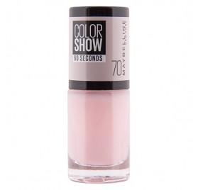 Vernis à ongles Maybelline Color Show n°70 Ballerina, en lot de 6p