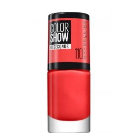 Vernis à ongles Maybelline Color Show n°110 Urban Coral, en lot de 6p