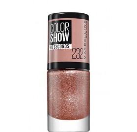 Vernis à ongles Maybelline Color Show n°232 Rose Chic, en lot de 6p