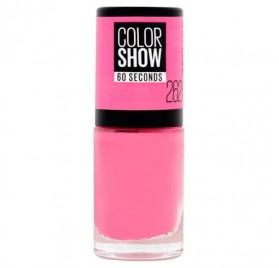 Vernis à ongles Maybelline Color Show n°262 Pink Boom, en lot de 6p