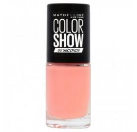 Vernis à ongles Maybelline Color Show n°329 Canal Street Corail, en lot de 6p