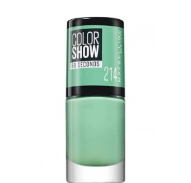 Vernis à ongles Maybelline Color Show n°214 Green With Envy, en lot de 6p