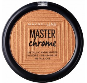Poudre Maybelline Master Chrome Enlumineur Metallique, n°50 Molten Rose Gold, en lot de 6p