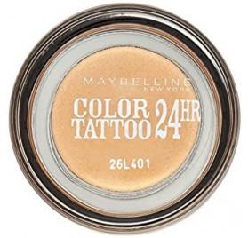 Fards à Paupières Maybelline Color Tatoo n°05 eternal Gold, en lot de 6p