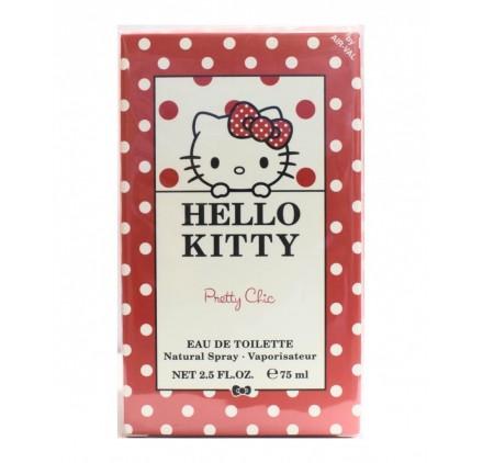 Eau de Toilette Enfants Hello Kitty - Pretty Chic - 75ml, en lot de 6p