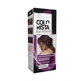 Colorista Coloration éphemere Hair Make Up, teinte Plumhair, en lot de 6p