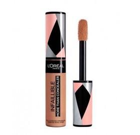 Correcteur de teint L'Oréal Infaillible More Than Concealer, n°335 Caramel, en lot de 6, neuf