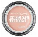 Fards à Paupières Maybelline Color Tatoo n°91 Creme de Rose, en lot de 6p