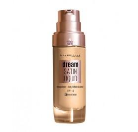 Fond de teint Gemey Maybelline Dream Satin Liquide, n°42 Bronze Beige en lot de 6p, sans blister