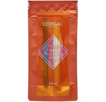 Coffrey Xmas Paris Electric Night Eye Kit de L'Oréal en lot de 6p