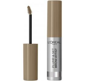 Mascara a sourcils Brow Artist Plump & Set de L'Oréal n°101 Blonde, en lot de 6p