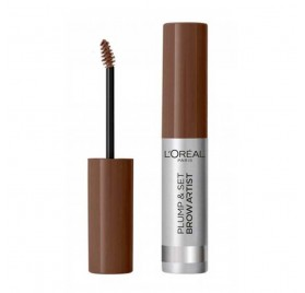 Mascara a sourcils Brow Artist Plump & Set de L'Oréal n°105 Brunette, en lot de 6p