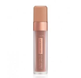 Gloss Infaillible l'Oréal Ultra Matte Les Chocolats n°848 Dose Of Cocoa, en lot de 6p