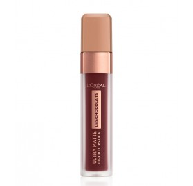 Gloss Infaillible l'Oréal Ultra Matte Les Chocolats n°868 Cacao Crush, en lot de 6p