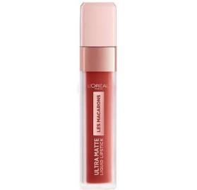 Gloss Infaillible l'Oréal Ultra Matte Les Macarons n°834 Infinite Spice, en lot de 6p
