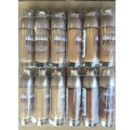 Fond de teint Gemey Maybelline Dream Satin Fluide,  en lot mixte de 12p, sans blister
