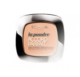 Poudre l'Oréal Accord Parfait n°5D Sable Doré, en lot de 6p