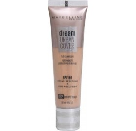 Fond de teint Maybelline Dream Urban Cover n°122 Creamy Beige, en lot de 6p