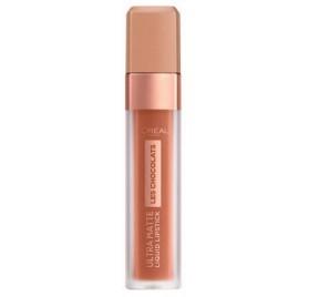 Gloss Infaillible l'Oréal Ultra Matte Les Chocolats n°862 Volupto Choco, en lot de 6p