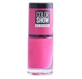 Vernis à ongles Maybelline Color Show n°14 Show Time Pink, en lot de 6p