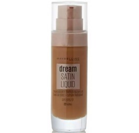 Fond de teint Maybelline Dream Satin Liquide, n°54 Toffee en lot de 6p, sans blister