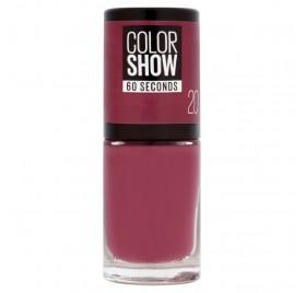 Vernis à ongles Maybelline Color Show n°20 Blush Berry, en lot de 6p